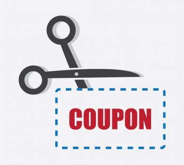 Scissors Cutting Coupon