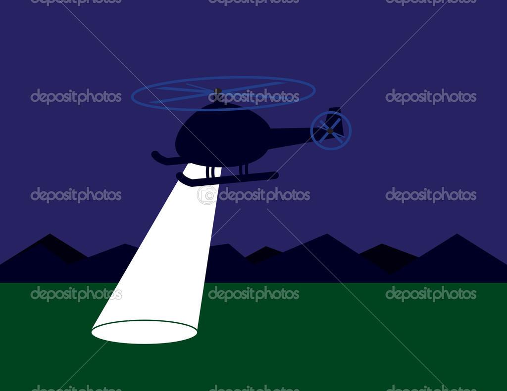 Helicopter Spotlight
