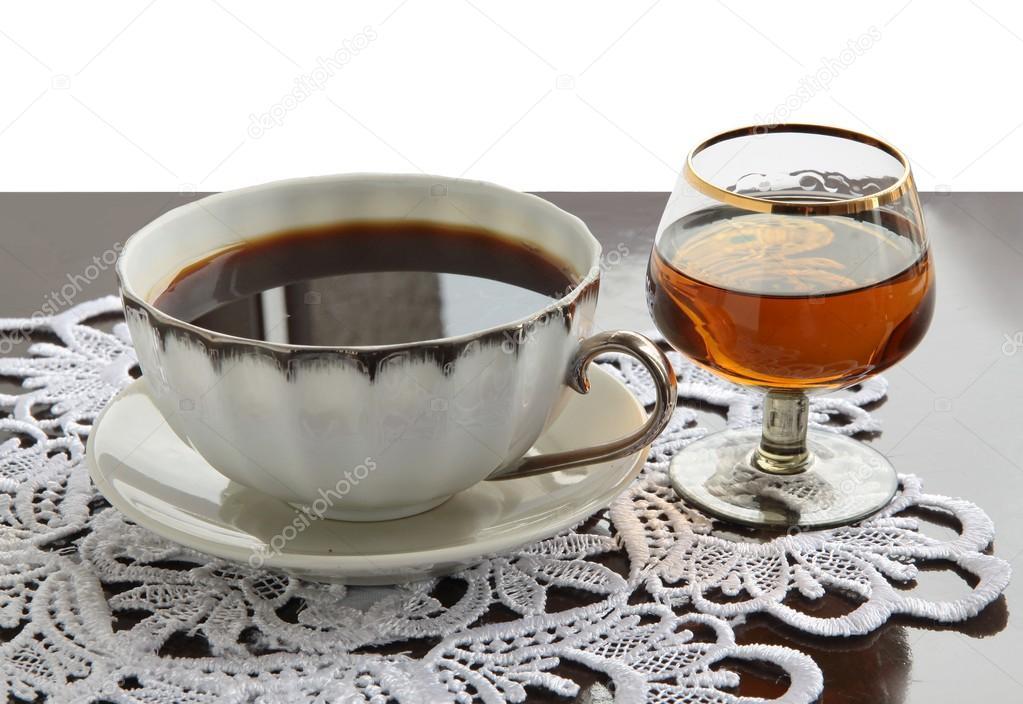 coffee och konjak