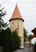 Fotografie Old tower in Bardejov town