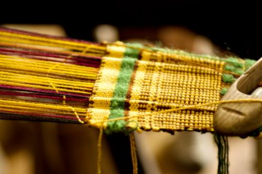 Old style weaving