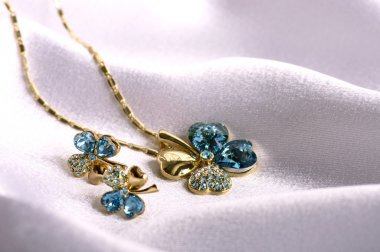 Beautiful jewelry bijouterie