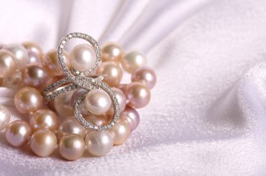 Beautiful pearl jewelry