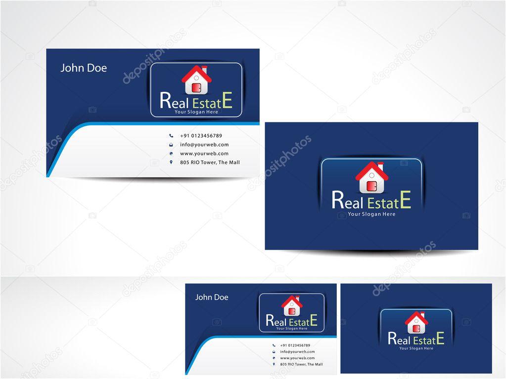 Real Estate Business Card — Stock Vector © gurukripa #35036741