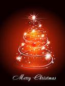 Vánoční stromeček Wtih jiskra