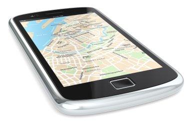 Smartphone GPS.