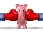 Finanční peníze tlak