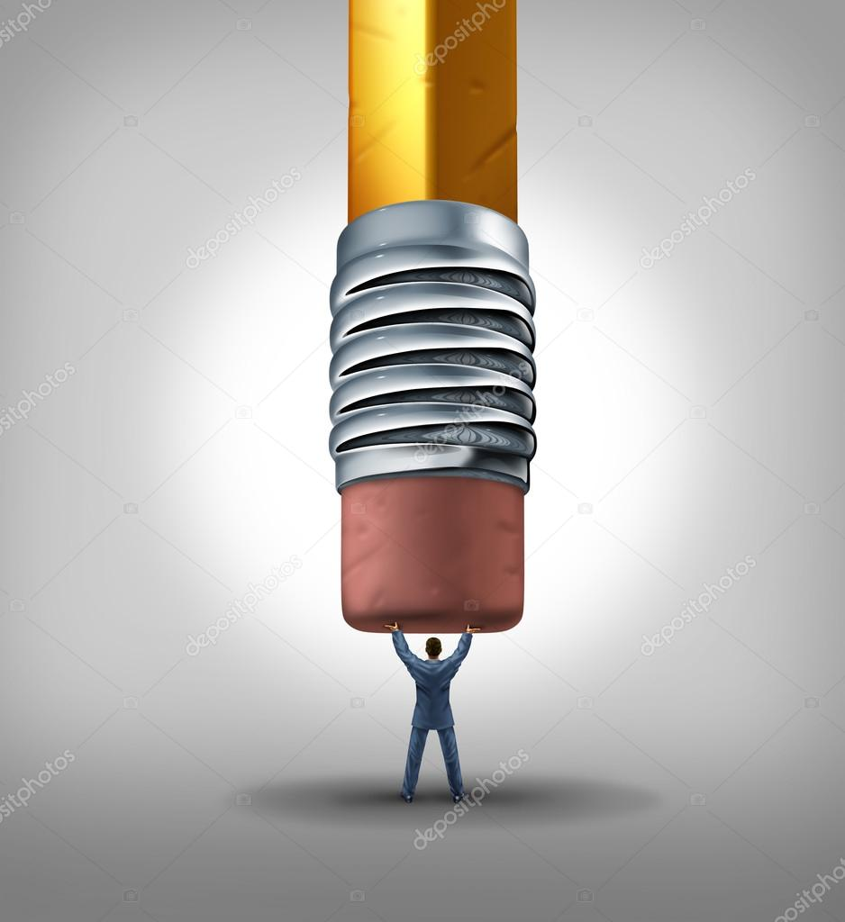 b5e9d94244 Ασφάλεια της θέσης εργασίας και επιχειρηματικών θεμάτων απασχόλησης ως  επιχειρηματίας καθυστερούν και διακοπή μια γόμα γίγαντας μολύβι από την  εξάλειψη της ...