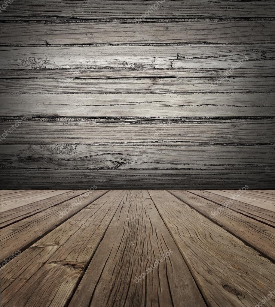 Old Wood Stage Background