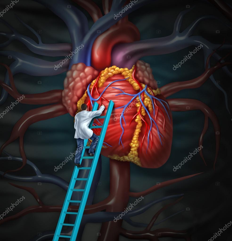 tratamiento médico de corazón — Foto de stock © lightsource #33676447