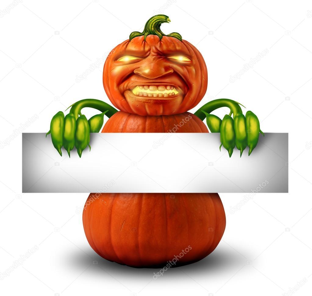 Halloween Character Message