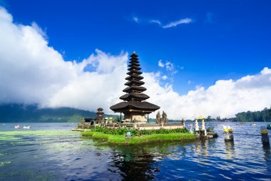 Pura Ulun Danu Bratan, a water temple on Bali, Indonesia