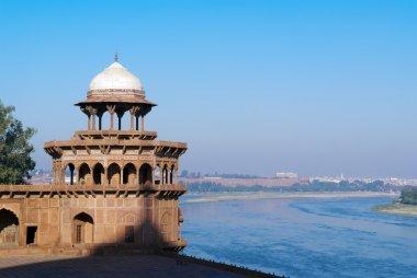 Riverfront of Taj Mahal