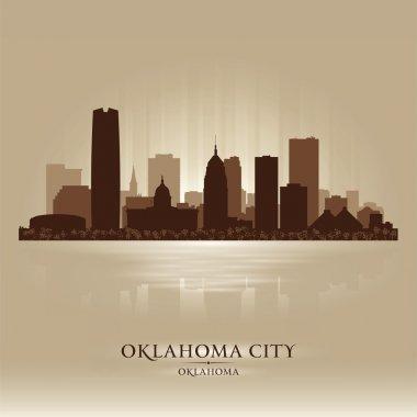Oklahoma City skyline silhouette