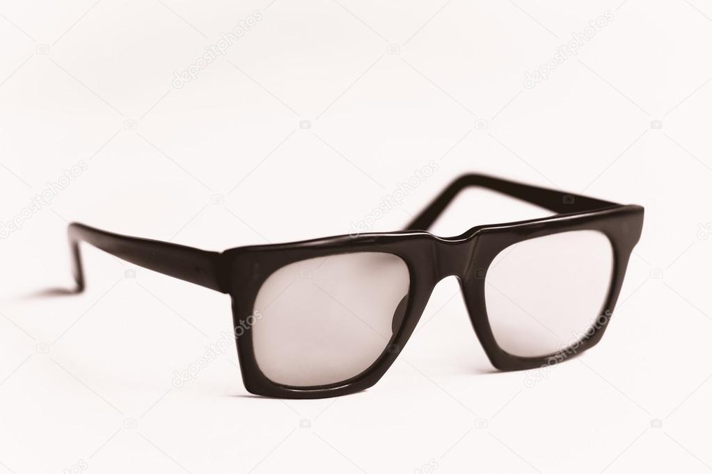 monturas de gafas nerd negro foto — Foto de stock © Ryhor #13504192