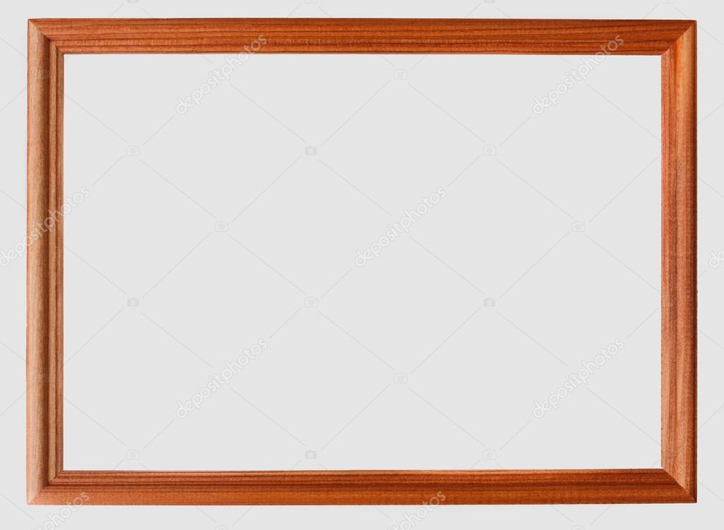 marco de fotos vintage aislado sobre fondo blanco — Fotos de Stock ...