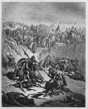 Combat Soldiers of Ish-bosheth and David