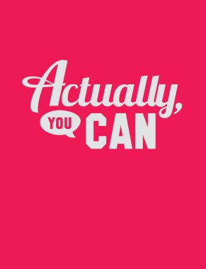 Actually, you can.