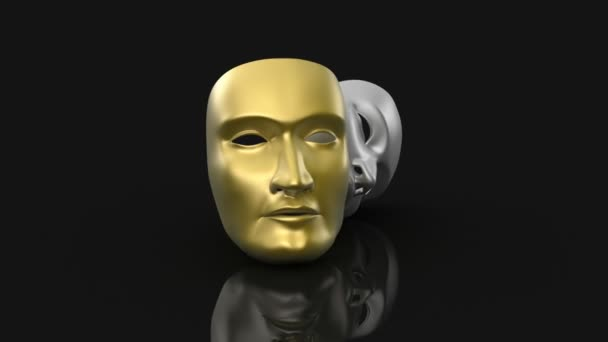 divadelní masky animace