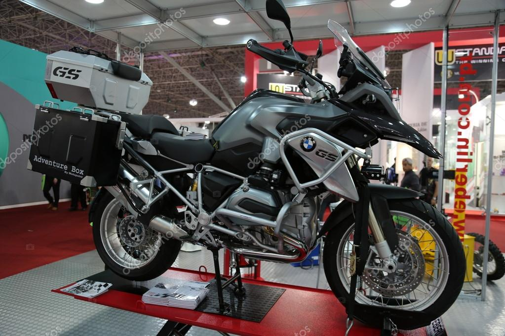 Motorcycle BMW GS adventure