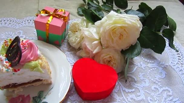 dort, růže a dary boxy