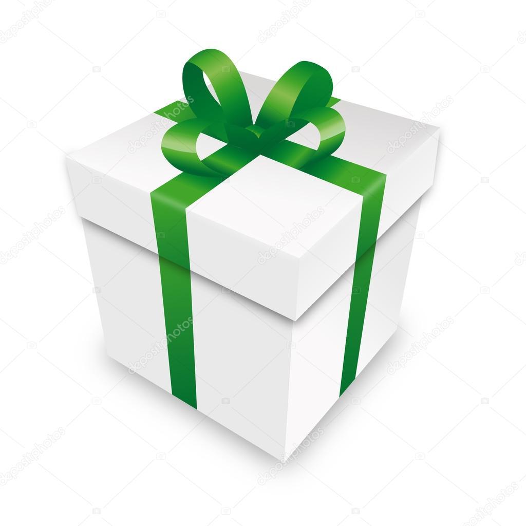 Cadeau emballage cadeau bo te paquet vert parcelle habillage saint valentin no l image - Ou acheter du papier cadeau ...