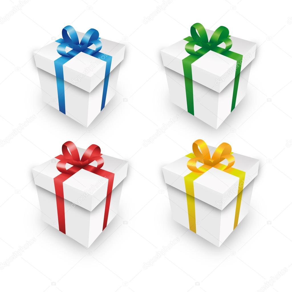 Set de regalo paquete regalo paquete paquete de caja roja - Paquetes de regalo ...