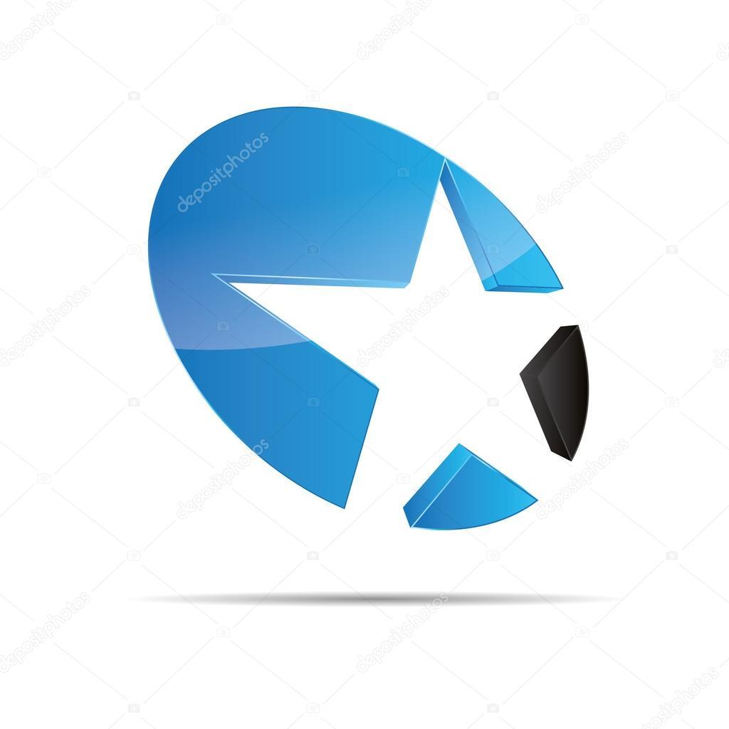 3d abstrakt blau Wasser Meer Sterne Seestern Weihnachten Vorlage ...
