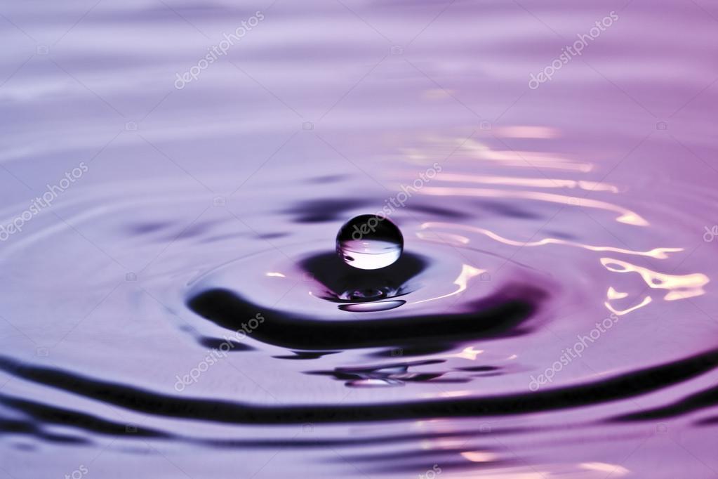 Drip drop water drop raindrop splash special surface water falling liquid