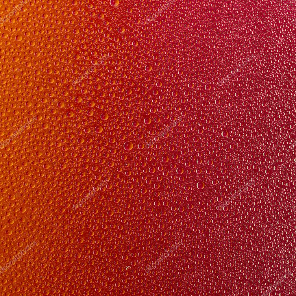 Water drops spectral red colors gradient rainbow colorful beading lotuseffekt tau sealing