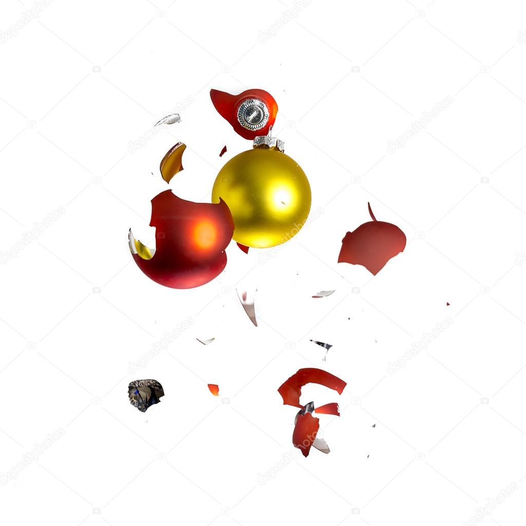 or de sapin de no l orange boule no l explosion d 39 ornement rouge d coration effet bris e. Black Bedroom Furniture Sets. Home Design Ideas