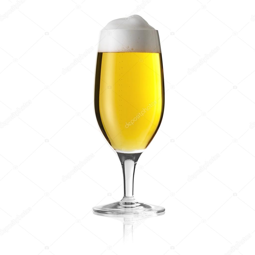 St Beer Glass