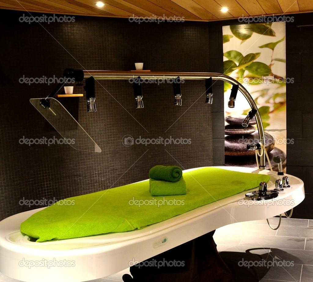 Pleasing Aqua Massage Table Stock Photo C Tonesphotos 18475567 Interior Design Ideas Ghosoteloinfo