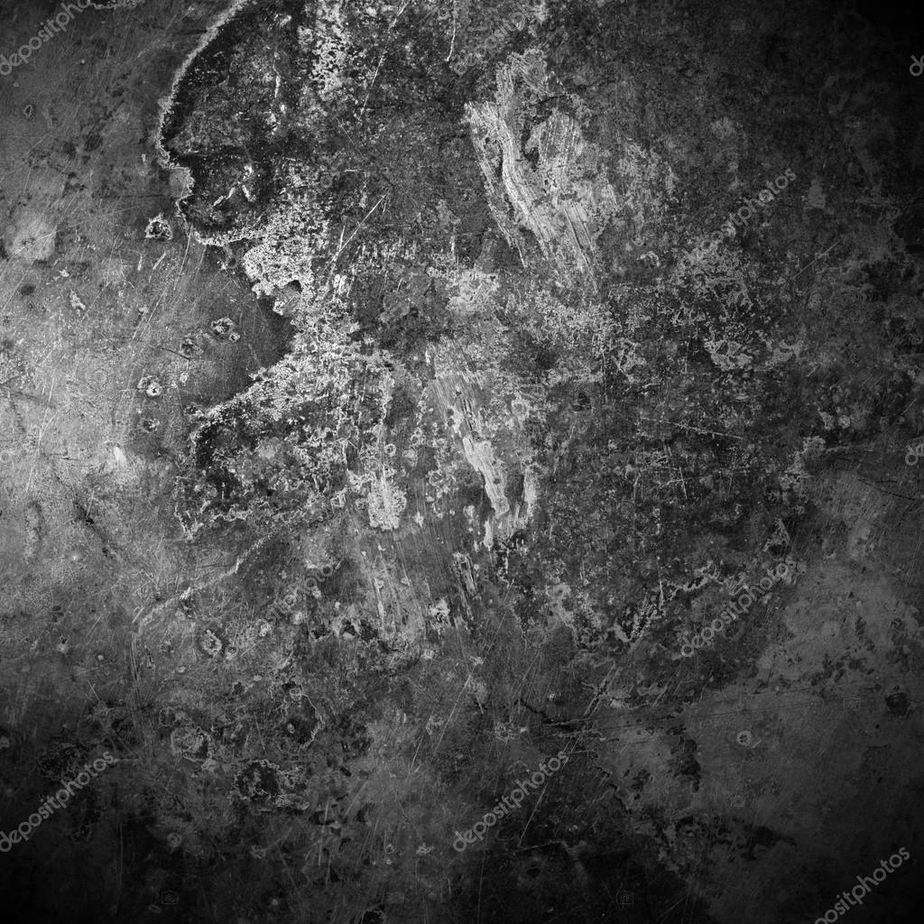 black old rust metal plate background