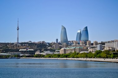 Embankment of Baku