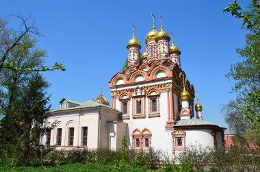 Church of St. Nicholas in Bersenevka in Upper Sadovniki, Moscow, Russia