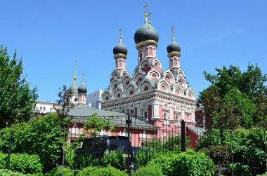 Moscow, the Church of St. George the victorious in Endova