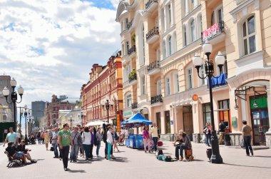 Moscow, Arbat street