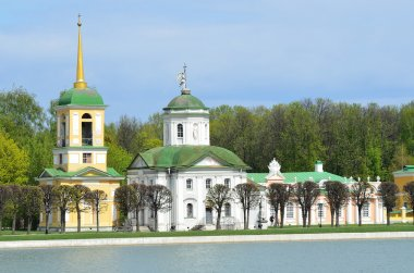 Moscow, Kuskovo, the church of the all-merciful Saviour (Born n.Benois)