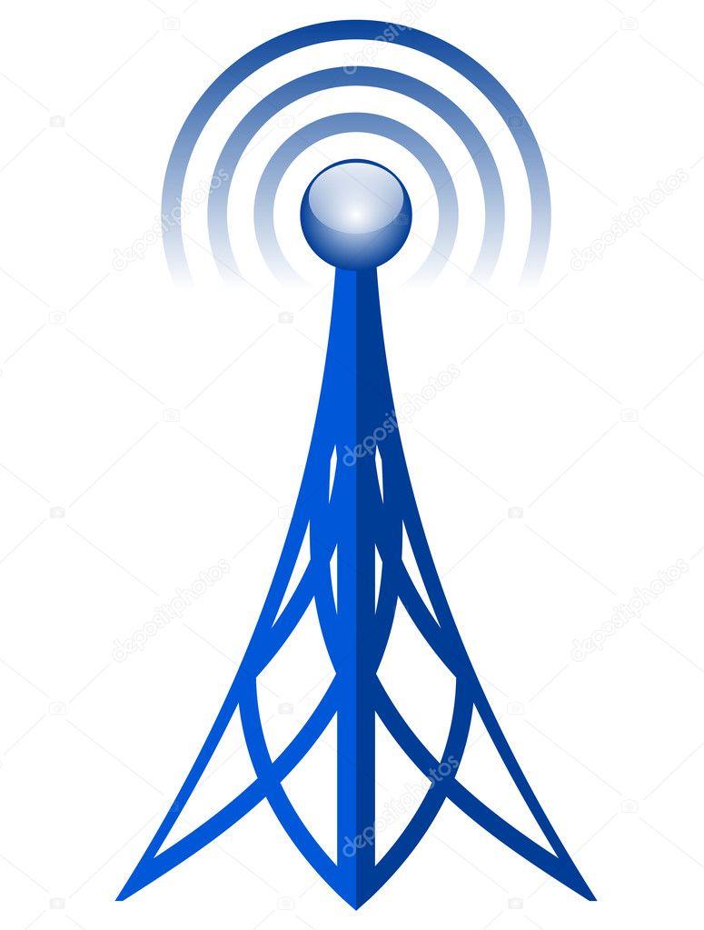 Vektor Antennensymbol — Stockvektor © yuliaglam #18779661