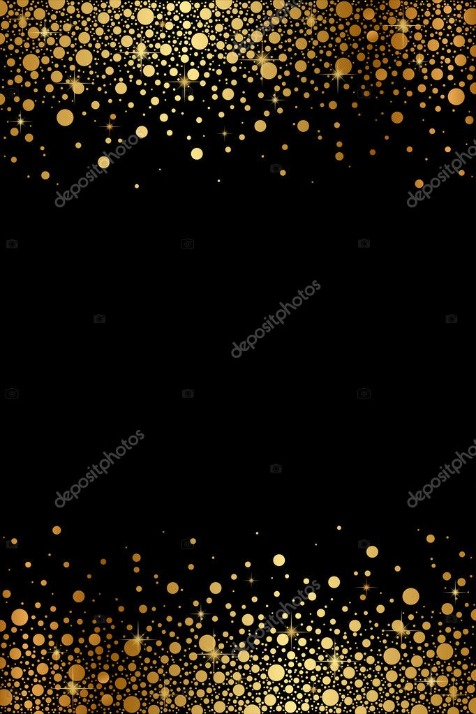Vector black and gold luxury frame — Vector de stock © yuliaglam ...