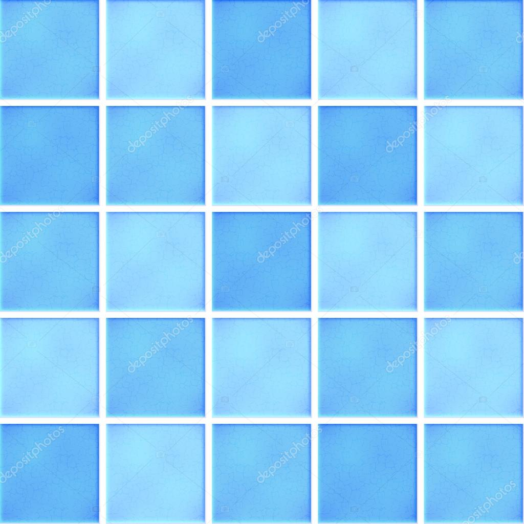 Vector blue ceramic tiles — Stock Vector © yuliaglam #30020755