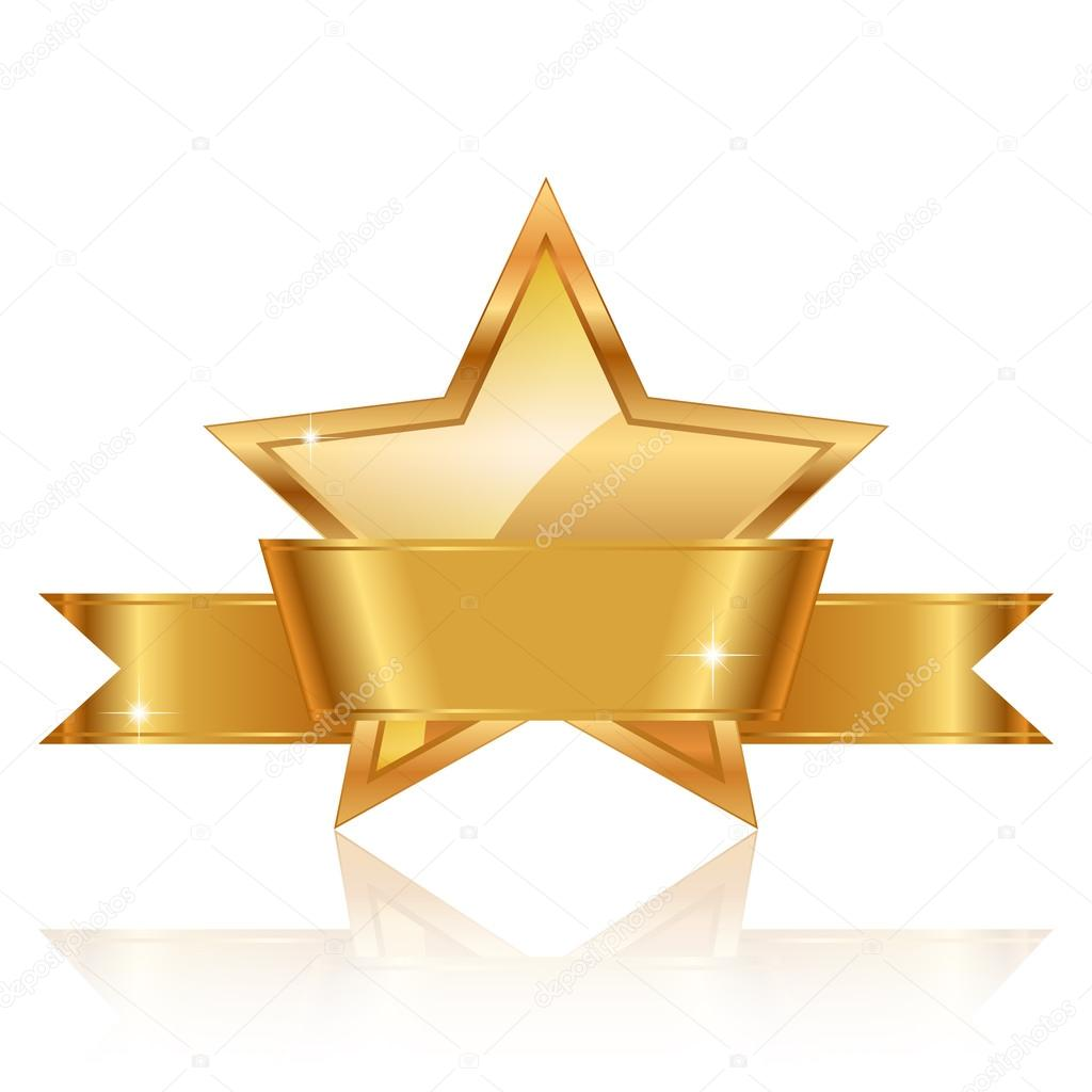 Award stock vectors royalty free award illustrations depositphotos vector illustration of gold star award with shiny ribbon with sp stock vector alramifo Image collections