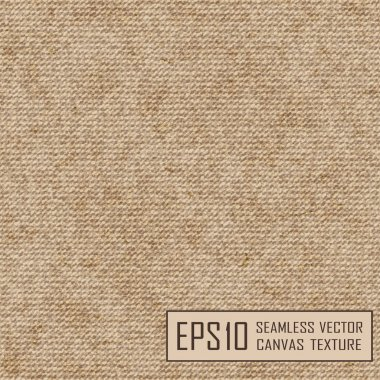 Realistic texture of burlap, canvas.