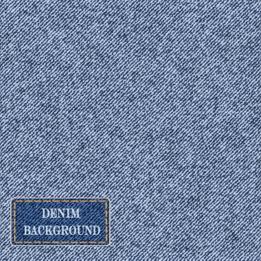 pattern with denim jeans background.