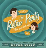 Fényképek szüret és retro tájolással retro party