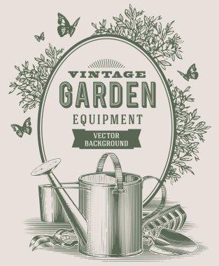 vintage garden equipment