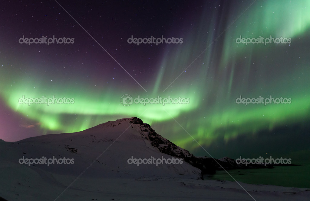 the northern lights aurora stock photo serg iceland 24991511