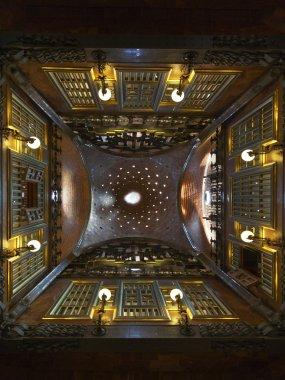 Dome of Palau Guell Palace (Gaudi) Barcelona - Spain