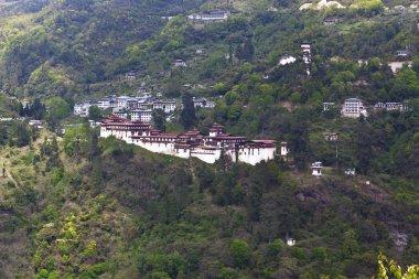 Trongsa Dzong monastery in Trongsa, Central Bhutan